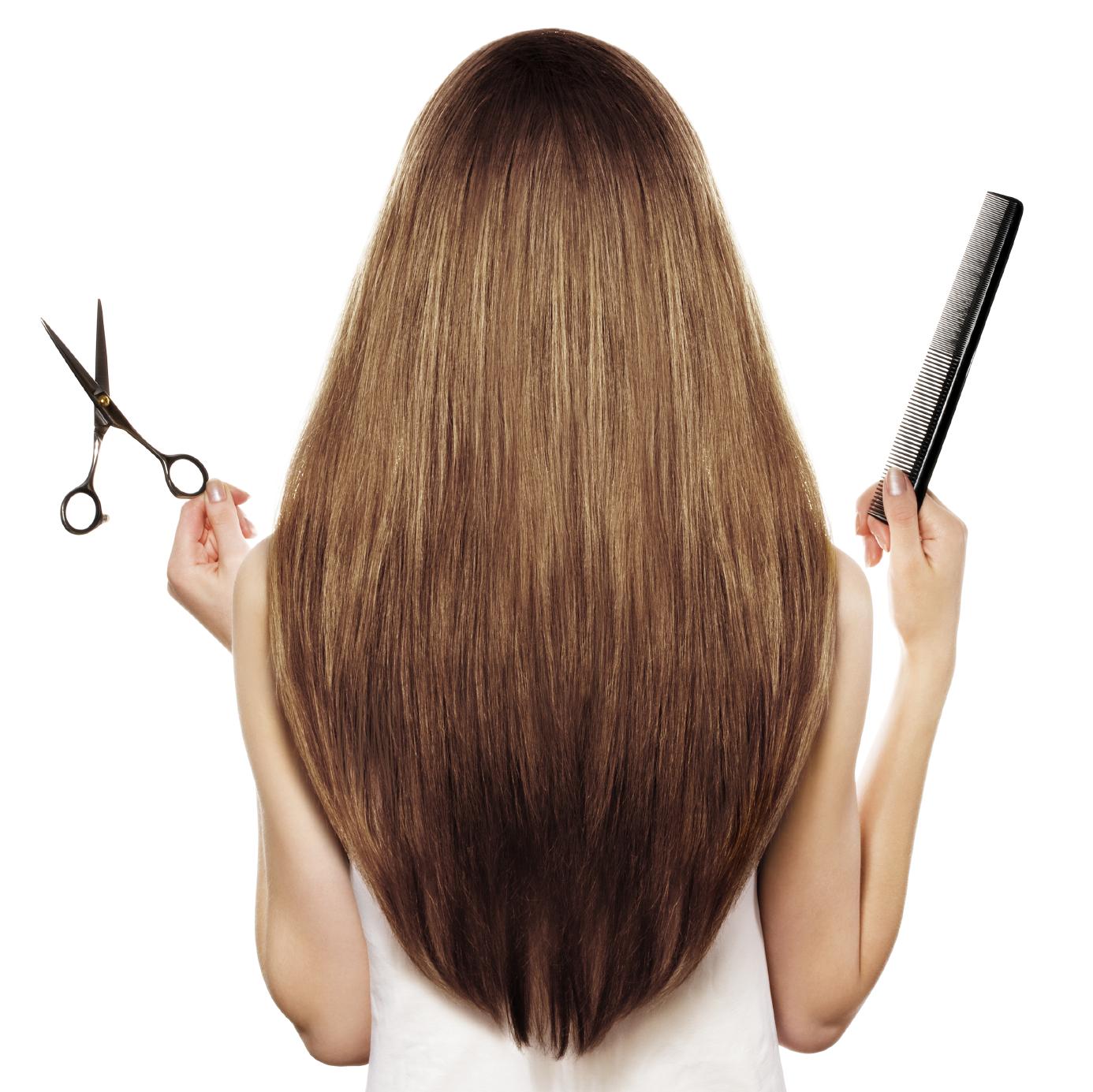 Как красиво подстричь длинные волосы сзади